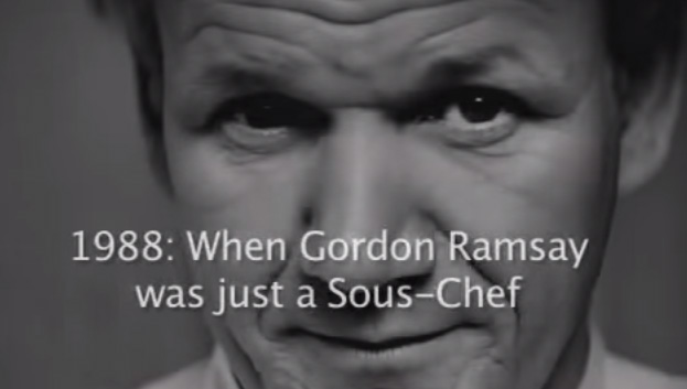 1988 When Gordon Ramsay was just a Sous-Chef