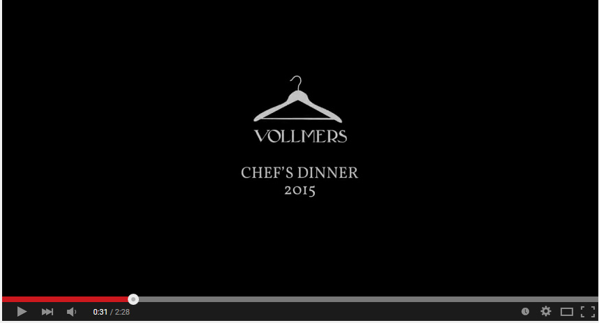 Vollmers Restaurant | Chefs Dinner 2015